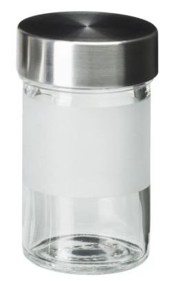 Bottle- Glass Stainless Steel
