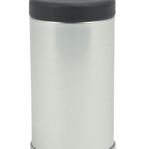 Jar- Stainless Black Lid